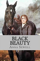 Black Beauty by Anne Sewell horse book cover