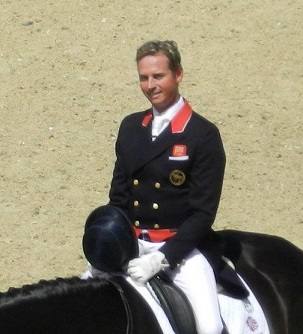 Carl Hester, famous British dressage horse trainer and rider