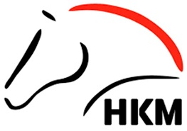 HKM horse riding clothing brand logo