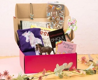 LaLa horse subscription box for girls kids