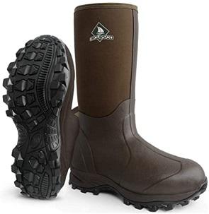 Obcursco Waterproof Rubber Boot, cheap muck boot