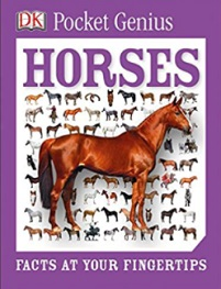 Pocket Genius, Horses book by DK