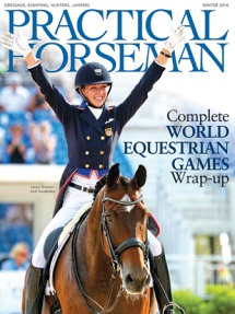 Practical Horseman magazine cover
