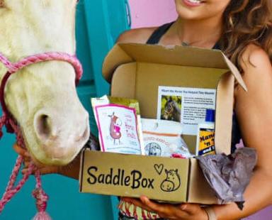 Saddle Box horse subscription box