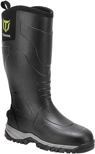 TIDEWE Rubber Muck Hunting Boots Waterproof Durable