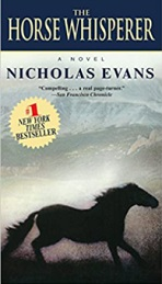 The Horse Whisperer by Nicholas Evans book cover