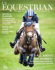 US Equestrian magazine for horse riders