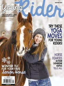 Young Rider horse magazine for kids