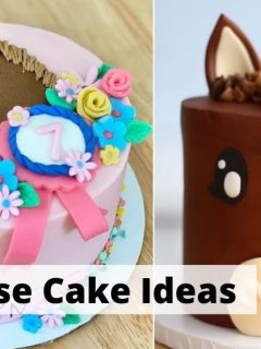 Best horse cake designs and ideas. Birthday and wedding