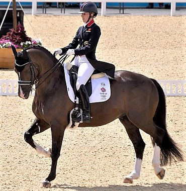 Charlotte Dujardin and Valegro at the 2012 Olympics