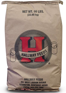Hallway horse feed brand