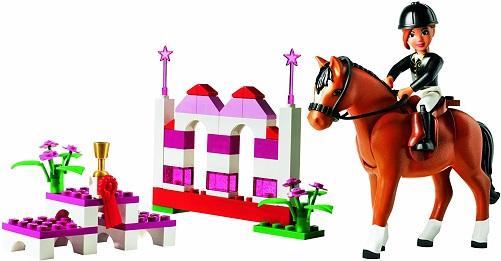LEGO Duplo horse jumping set for kids