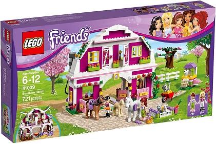 LEGO Friends 41039 Sunshine Ranch box cover