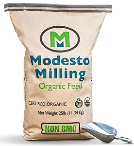 Modesto Milling organic horse feed brand