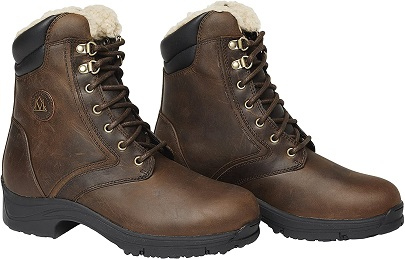 Mountain Horse Ladies Snowy River Lace Paddock Boots