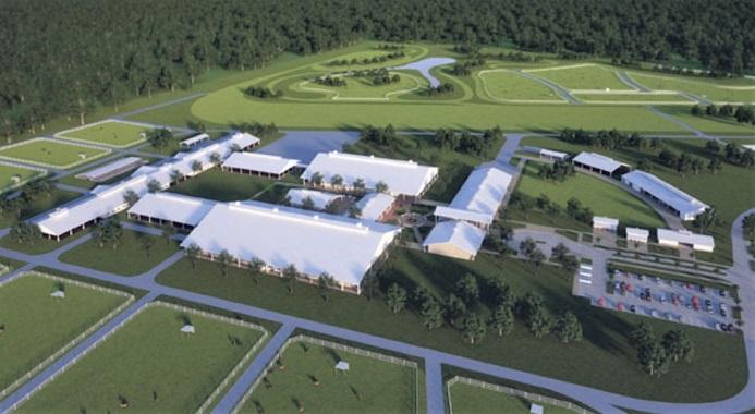 Texas A&M University equine course facility campus