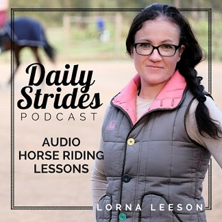 Daily Strides podcast by Lorna Lesson cover photo