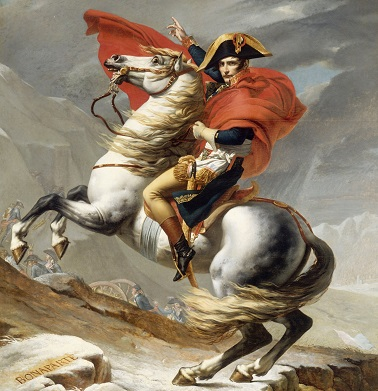 Marengo, famous white Arabian stallion owned by Napoleon