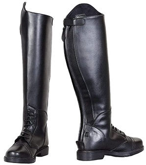 TuffRider Ladies Starter Back Zip Field Boots in Synthetic Leather