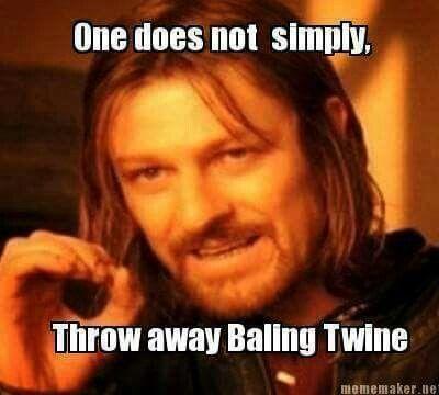 Sean Bean bailing twine meme