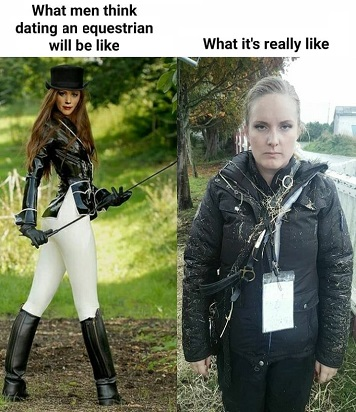 reality of dating a horse girl