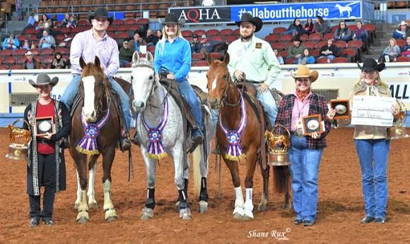 AQHA World Championship Show in Oklahoma City, Oklahoma.