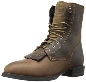 Ariat Heritage Lacer Boots - Men's Leather Round-Toe Western Boot