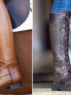 Best lace up horse riding boots for men and women