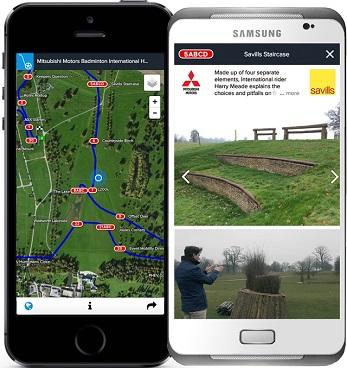 CourseWalk eventing course tracker app for equestrians