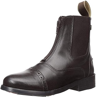 EQUISTAR Childs All-Weather Synthetic Zip Paddock Boots