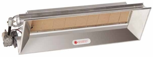 Enerco Gas Infrared Heater for barns and horse stalls
