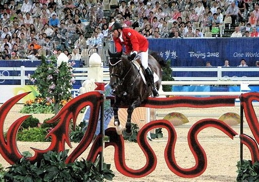 Hickstead, showjumping horse