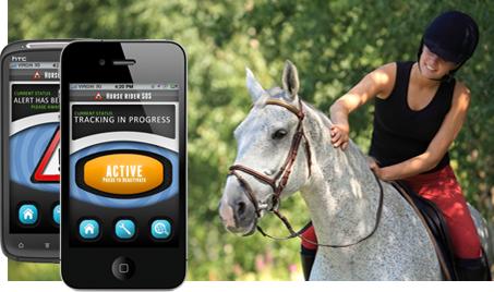 Horse Riding SOS app