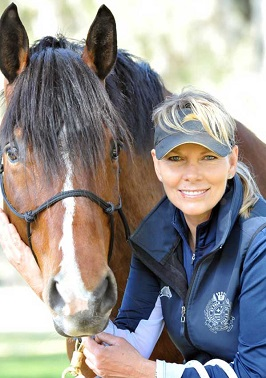 Linda Parelli with a horse