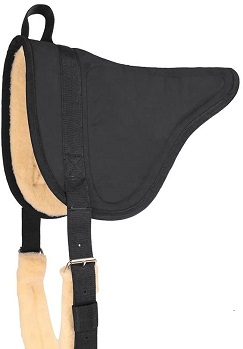 Mustang Manufacturing Company Suede Bareback Pad