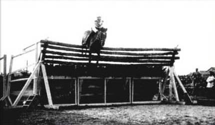 Huaso showjumping horse record jump