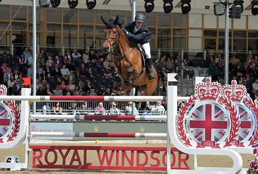 Royal Windsor Horse Show outside Windsor Castle, England, United Kingdom