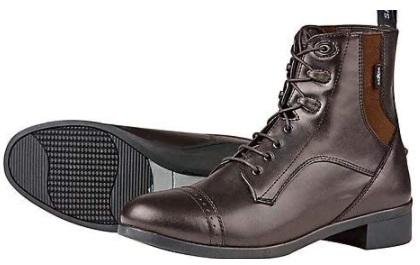 Saxon. Children's Syntovia Lace Paddock Boots