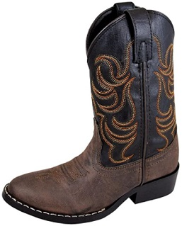 Smoky Mountain Boots Monterey Children's Western Toe Western Boots