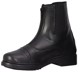 TuffRider Children's Starter Front Zip Paddock Boots