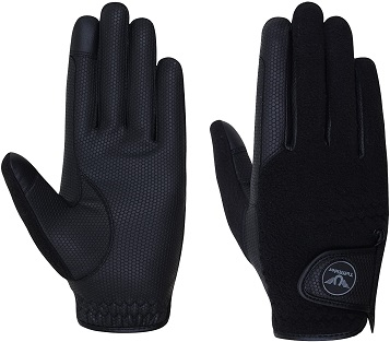 TuffRider Fleece Back Smart Riding Gloves