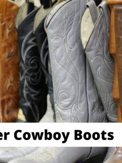 Best winter cowboy boots that are insulated and waterproof. Men and women