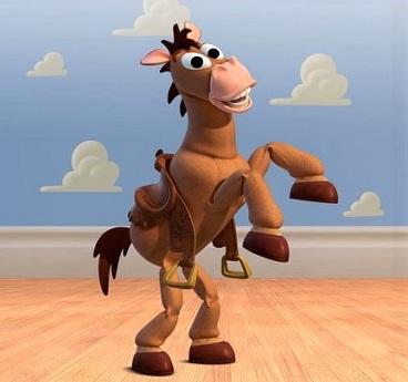 Bullseye, Disney horse from Toy Story 2 & 3
