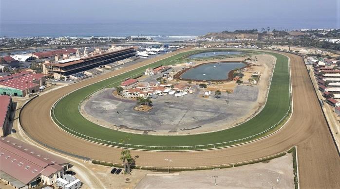 Del Mar Racetrack California