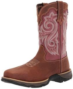 Durango Women's Waterproof Composite Toe Western Work Boot