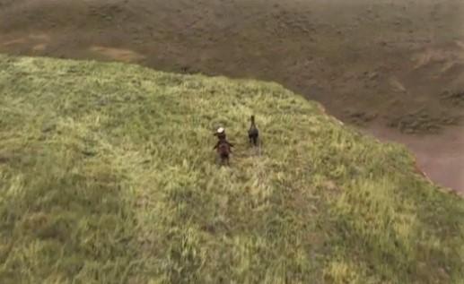 Flicka movie cliff scene