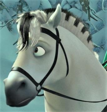 Kjekk, horse from the Disney movie Frozen
