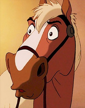 Phillipe, horse from Beauty and the Beast