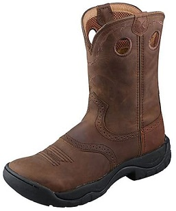 Twisted X Women's All Around Water Resistant Cowboy Work Boots