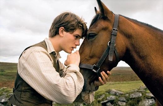 War Horse movie scene